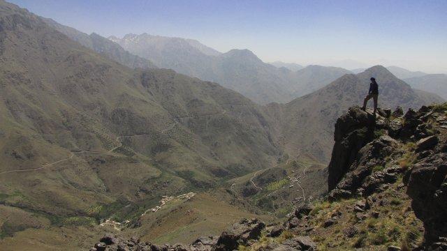 Bergblick in den Hohen Atlas