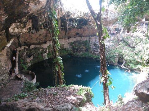 Mexiko-Yucatan-Cenote