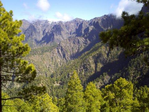Caldera von La Palma