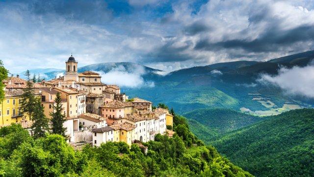Italien - Kleines Dorf in Umbrien