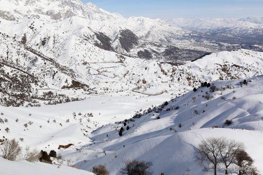 Kirgistan Ski Landschaft_2