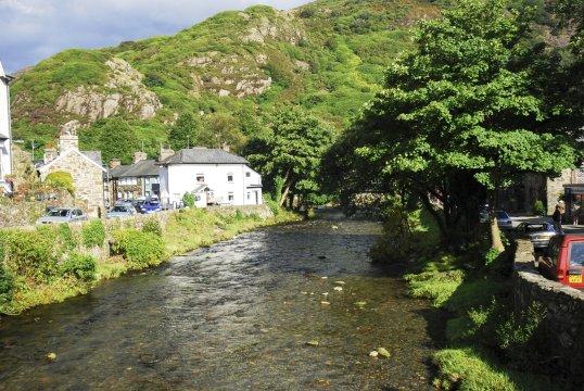Wales Landschaft Snowdon