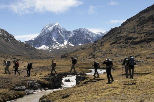Lodge Trekking Vilcanota Wanderer Bach_2