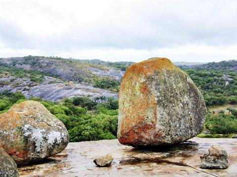 Steinformation in Matopos