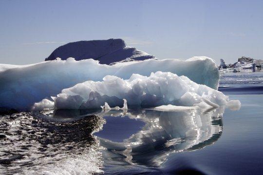 Sermilik-Fjord, Eisformation im Sermilik-Fjord