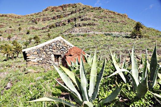 Steinhaus auf La Gomera