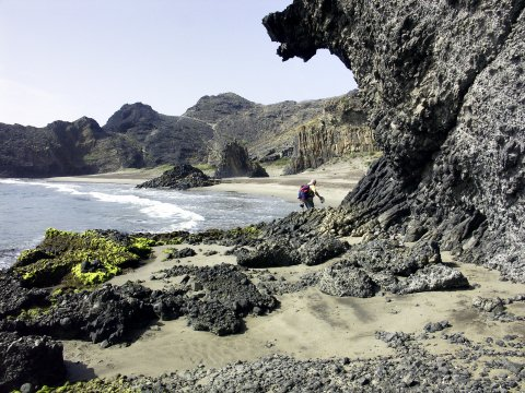 Bucht Cala Grande, NP Cabo de Gata