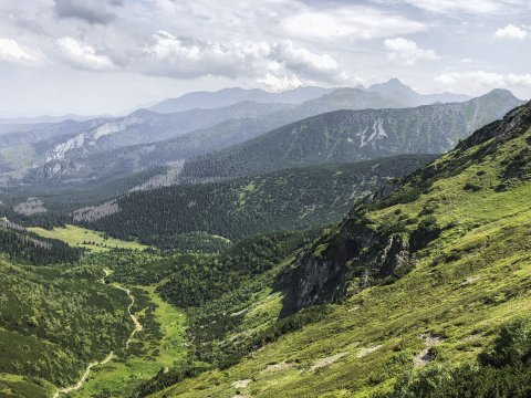 Wanderung Richtung Strążyski Tal