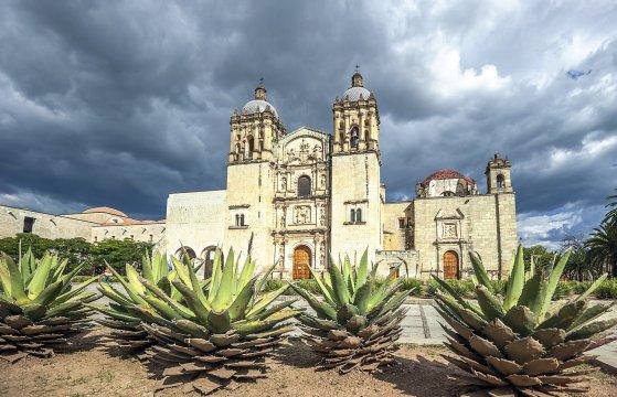 Santo Domingo Tempel Kirche Oaxaca_2