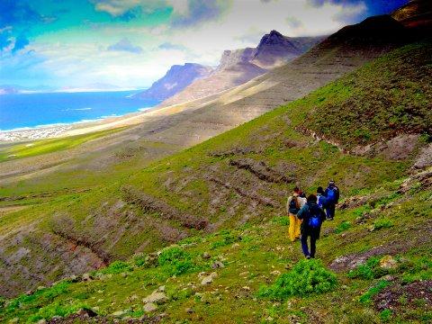 Wandern entlang spektakulärer Küsten