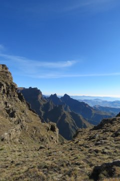Südafrika-Gipfel-Drakensberge