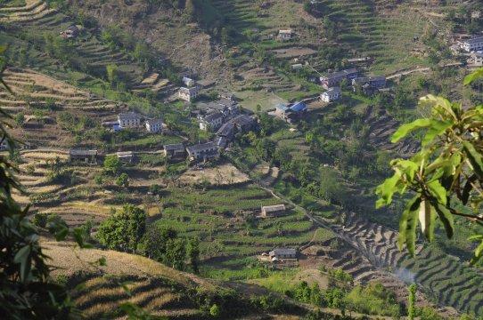 Dorf im Solu Khumbu