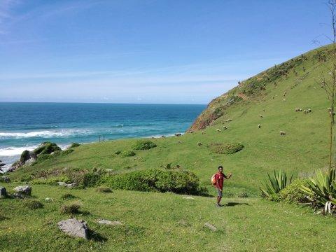 Wanderung von Coffee Bay Lubanzi nach Bulungula