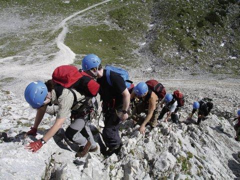 Alpspitze Klettersteig 6