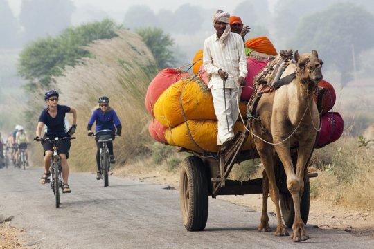 Auf zwei Raedern in Rajasthan_2