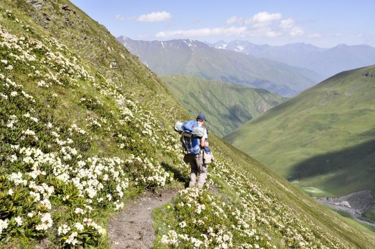 Genuss Trekking in Georgien
