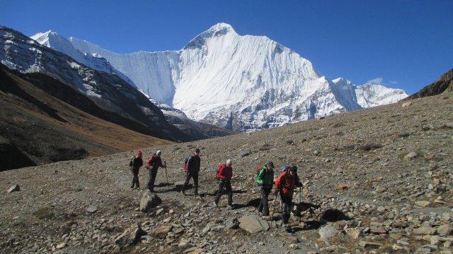 Nepal-Aufstieg-Sangda-La