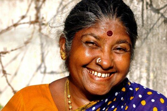 Sri Lankische Frau