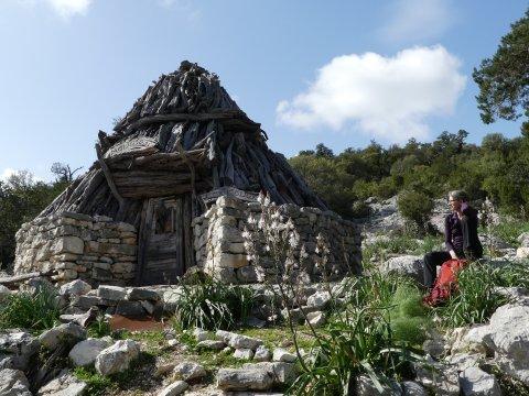 Italien-Sas-Traes-Sos-Mojos-Hütte