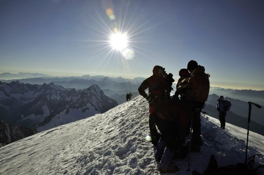 Gipfel_ Montblanc_2