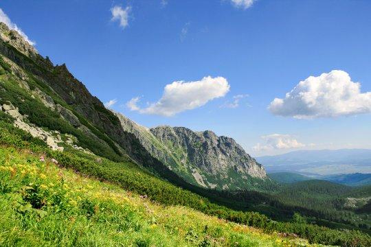 Sonnenschein in der Tatra