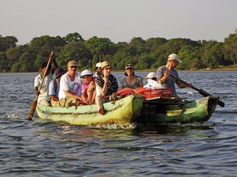 Polonnaruwa Katamaranfahrt bei Dr Dittus_2