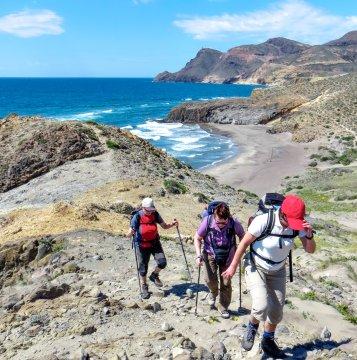 Kuestenwanderung Cabo de Gata