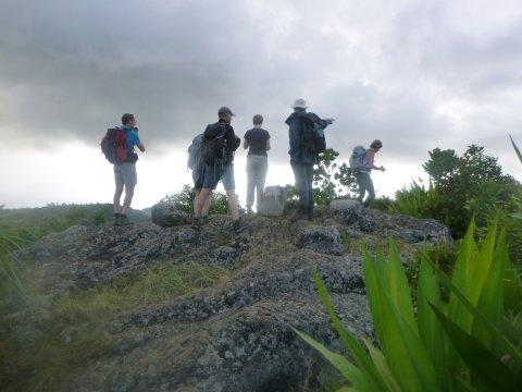 Wanderer Mont Limon Rodrigues