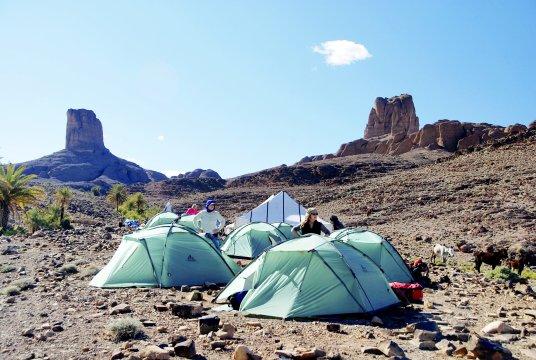 Djebel Saghro Lagerplatz