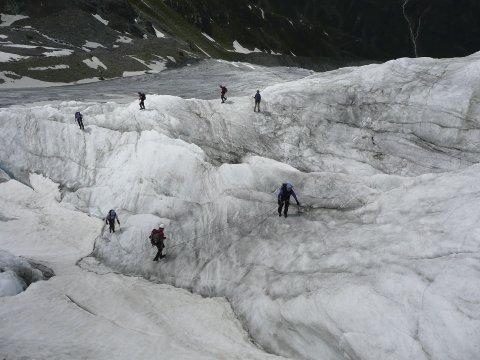 Gletscherbegehung 2