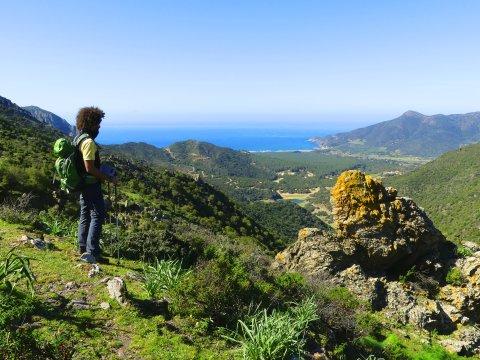 Aussicht auf Punta Gennargentu