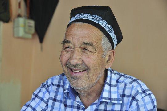 Usbeke in Kirgistan