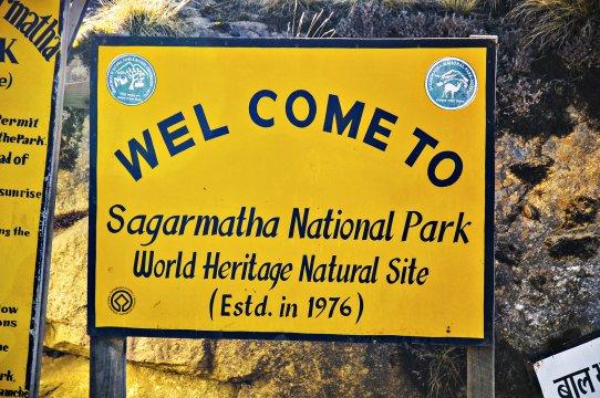 Willkommen im Sagarmatha Nationalpark