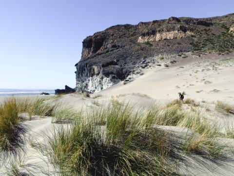 Dünen Cabo de Gata Naturpark