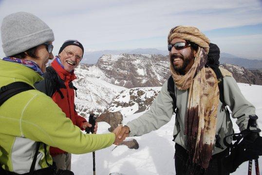 Gipfelerfolg am Toubkal