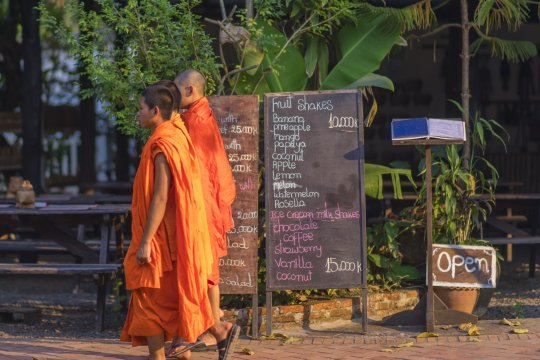 Luang Prabang junge Mönche