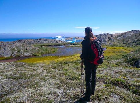 Wandern am Polarstrom