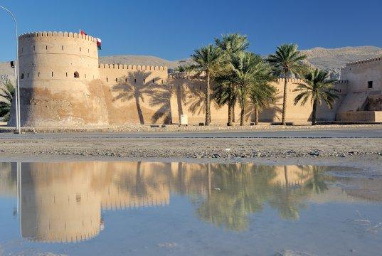 Mussandam, Fort von Khasab