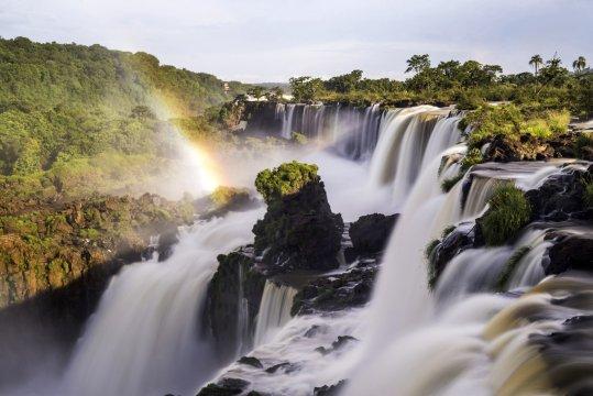 Iguazu Falls aka Iguassu Falls and Cataratas del Iguazu Misiones Province Argentina_2