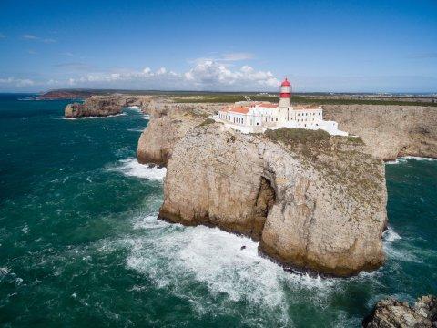 Leuchtturm Cabo Sao Vicente