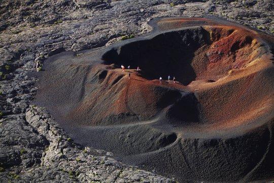 Vulkan Piton de la Fournaise Krater 2