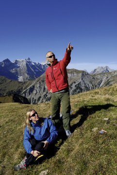 Bergwanderer im Karwendel_2
