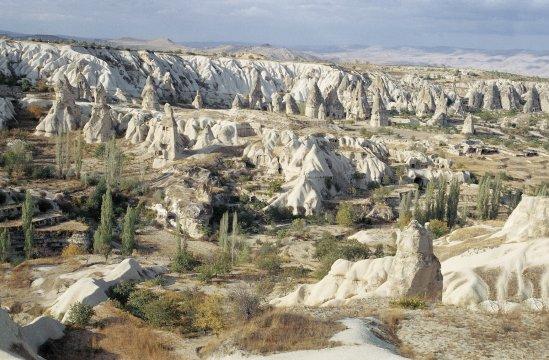 Pilzhäuser in Kapadokien