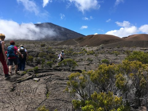 Wanderung am Piton de la Fournaise