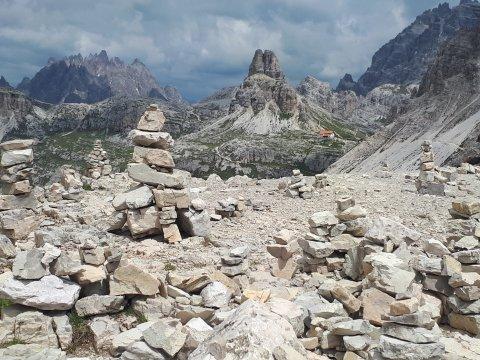 sterreich-Alpen-Dreizinnenhütte