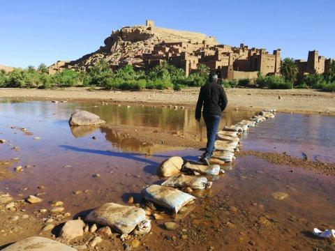Marokko Weg nach Ait Benhaddou_2
