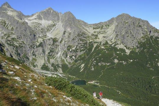 Wanderung zur Hütte Pri Zelenom