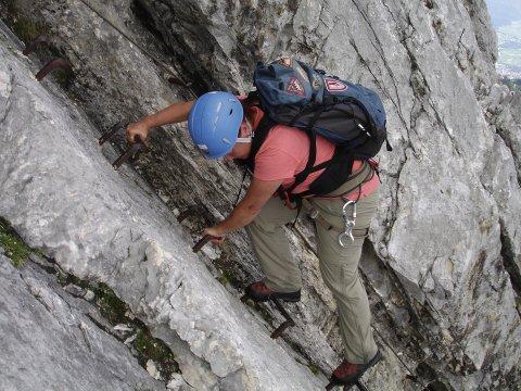 Alpspitze Klettersteig 3