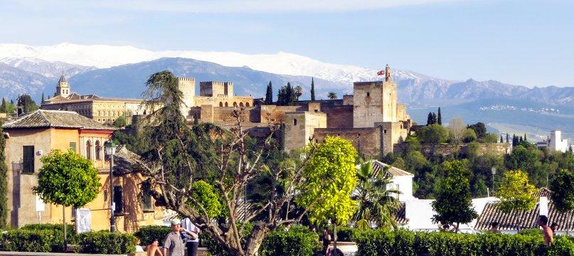 Stadtburg Alhambra Granada