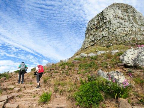 Südafrika-Entlang-am-Table-mountain